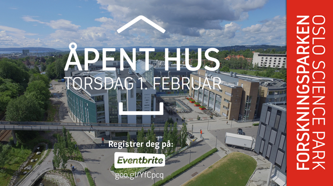 We invite you to an open day here at Oslo Science Park